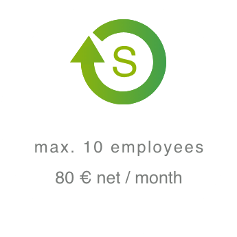 Small package - max. 10 employees